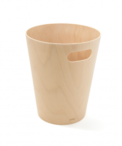 Holzabfallbehälter aus Umbra