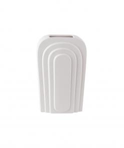 Vase weiß Bogen klein aus der Gegenwart