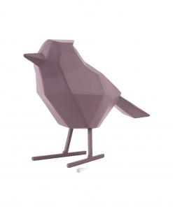 Paarse vogel large van Present Time